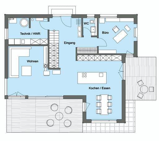 Baufritz - Herb Kundenhaus Floorplan 1