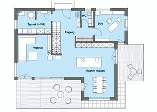 Herb - Kundenhaus Grundriss