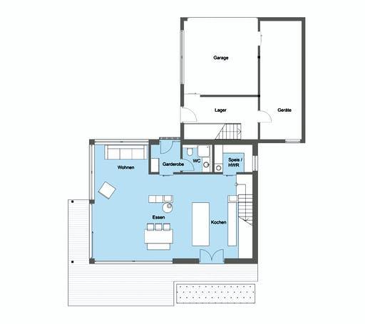 Baufritz - Kaiser Kundenhaus Floorplan 1