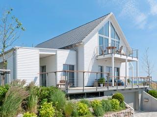 Mommsen - Kundenhaus von Baufritz Außenansicht 1