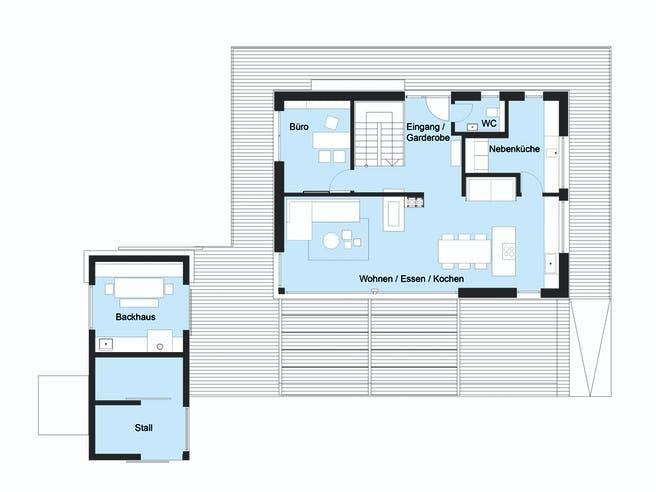 Baufritz - MH Heimat 4.0 Floorplan 1