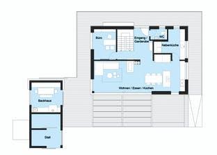 Heimat 4.0 - Musterhaus Grundriss