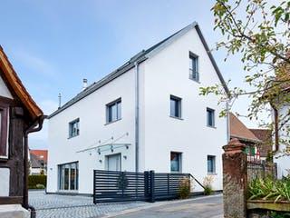 Ehrmann - Kundenhaus von Baufritz Außenansicht 1
