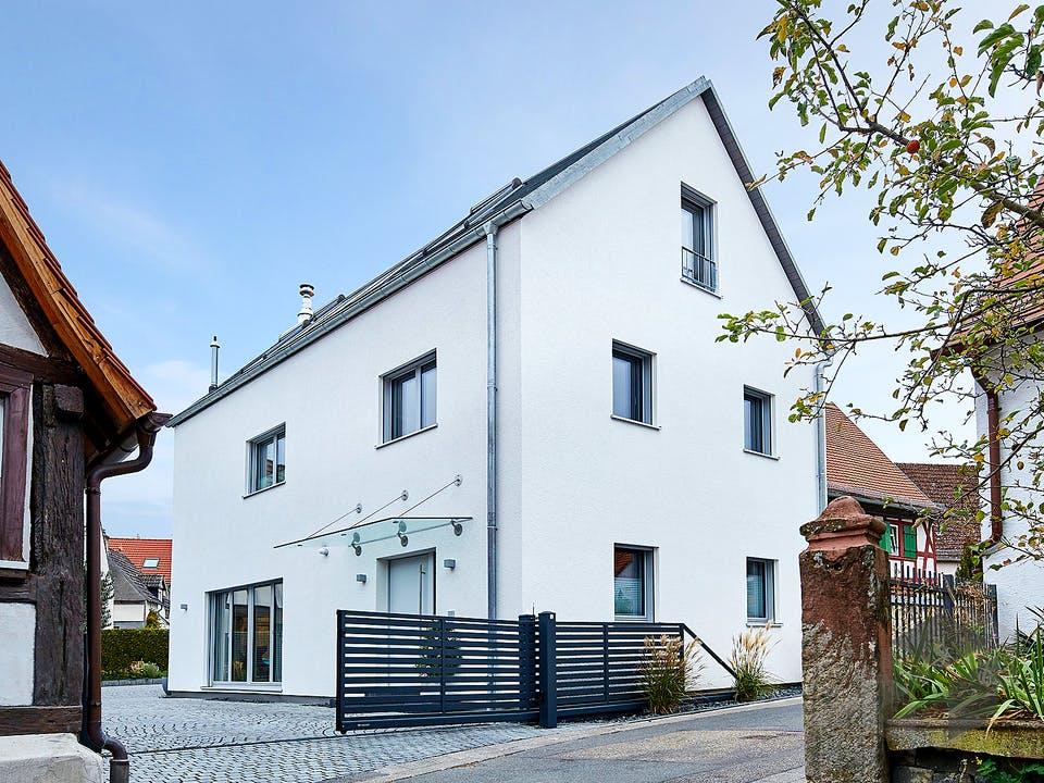 Ehrmann - Kundenhaus von Baufritz Außenansicht