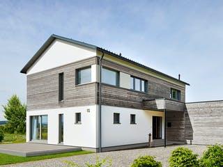 Gruber - Kundenhaus von Baufritz Außenansicht 1