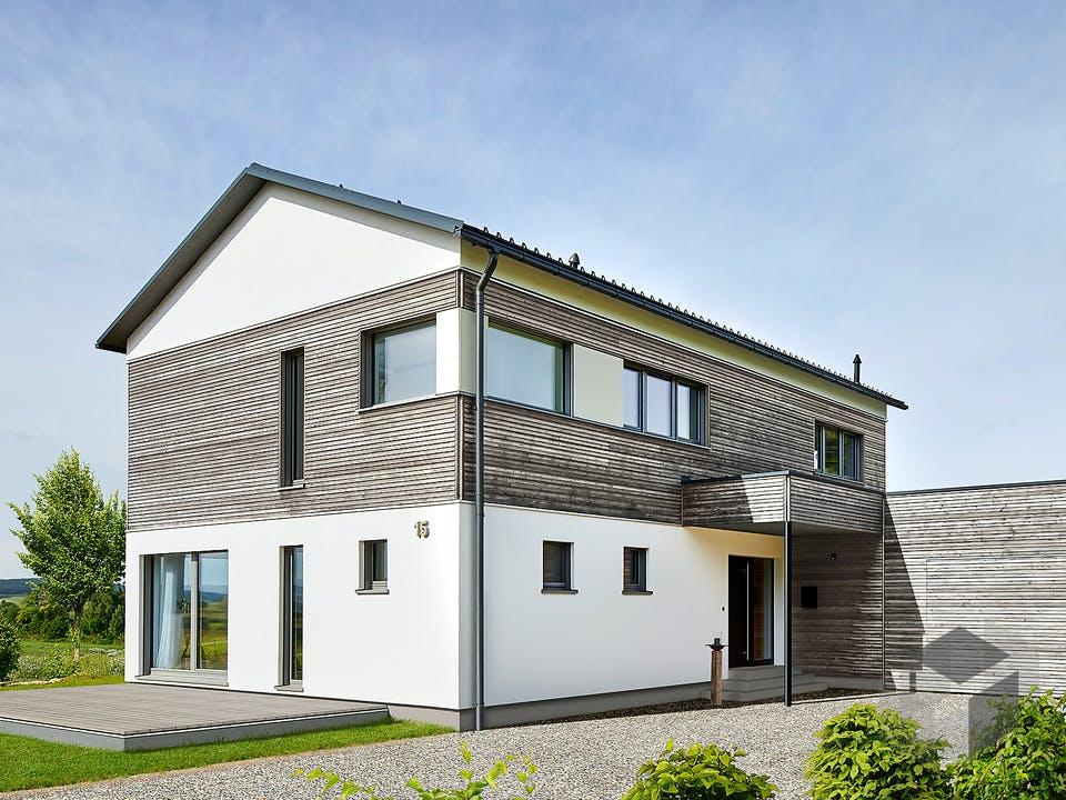 Gruber - Kundenhaus von Baufritz Außenansicht
