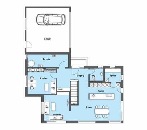 Baufritz - Gruber Floorplan 1