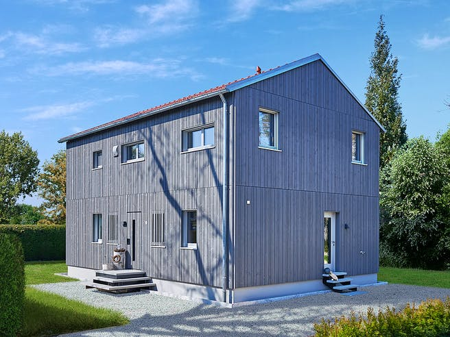 Remiger - Kundenhaus von Baufritz Außenansicht 1