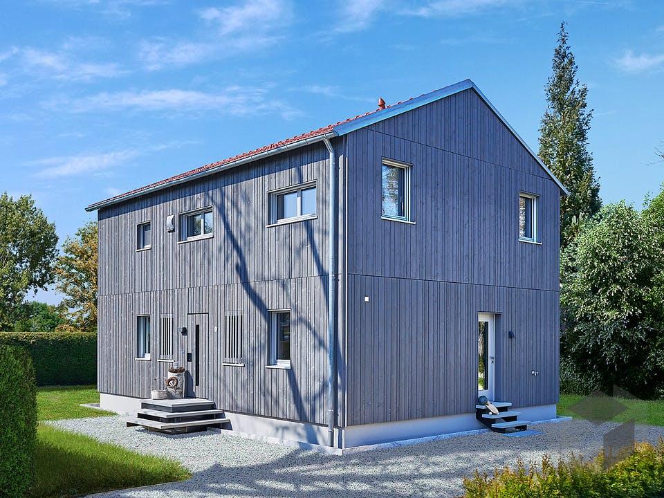 Remiger - Kundenhaus von Baufritz Außenansicht