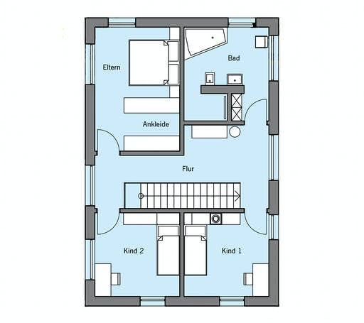 Baufritz - Remiger Floorplan 2