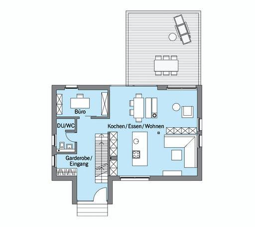Baufritz - Schellenberg Floorplan 1