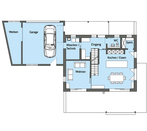 Baufritz - Schneider Floorplan 1