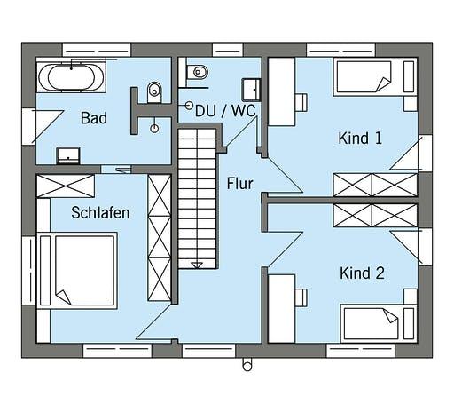 Baufritz - Schneider Floorplan 2