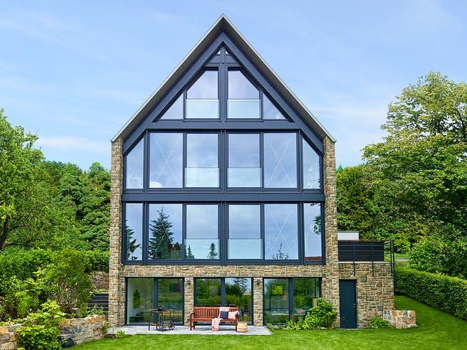 Steffen - Kundenhaus von Baufritz Außenansicht 1