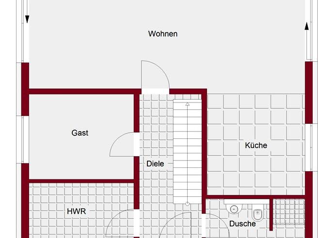 Bauhaus Biersdorf Floorplan 1