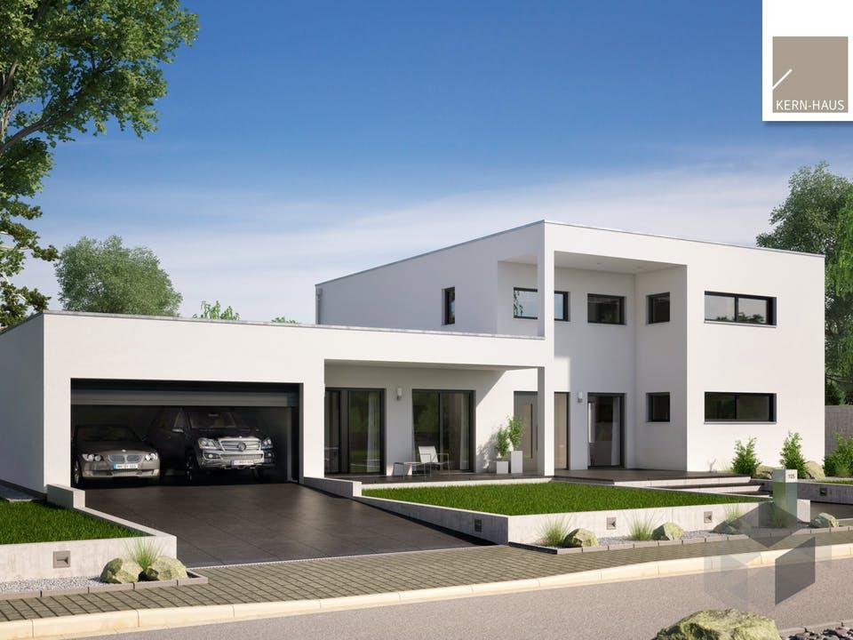 Bauhaus Ixeo von Kern-Haus Außenansicht