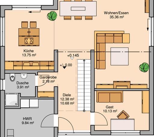 Linea Floorplan 1