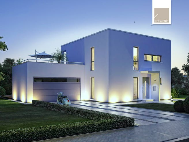Haus im Bauhaus-Stil | Fertighaus.de