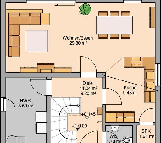 Bauhaus Novum Floorplan 1