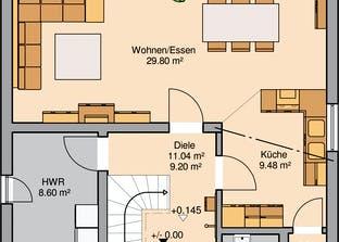 Bauhaus Novum Grundriss