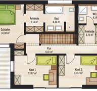 Bauhaus V1 Grundriss
