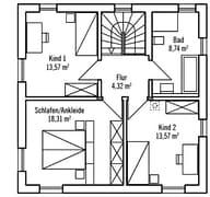 Bauhaus V2 Grundriss