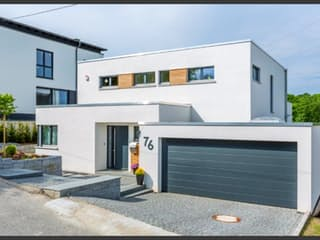 Bauhaus-Villa von Meisterstück-HAUS Außenansicht 1