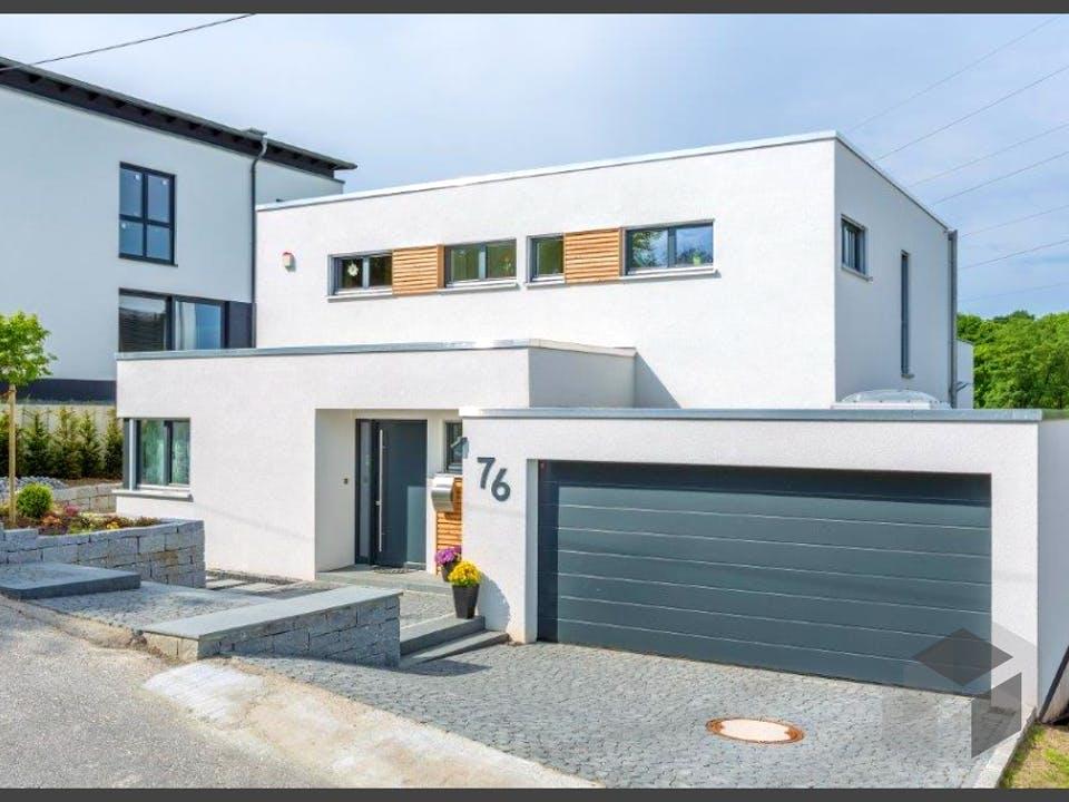 Bauhaus-Villa von Meisterstück-HAUS Außenansicht