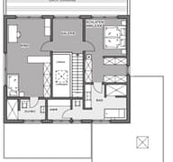 Bauhaus-Villa Grundriss