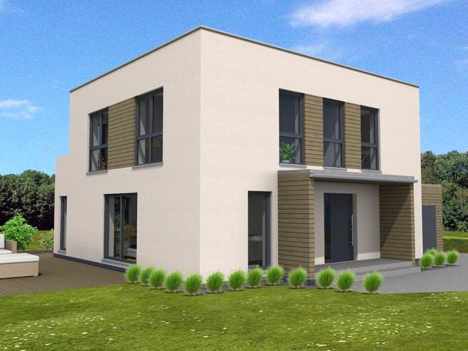 Bauhaus 160 von Suckfüll - Unser Energiesparhaus Außenansicht 1