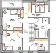 Bauhaus 160 Grundriss