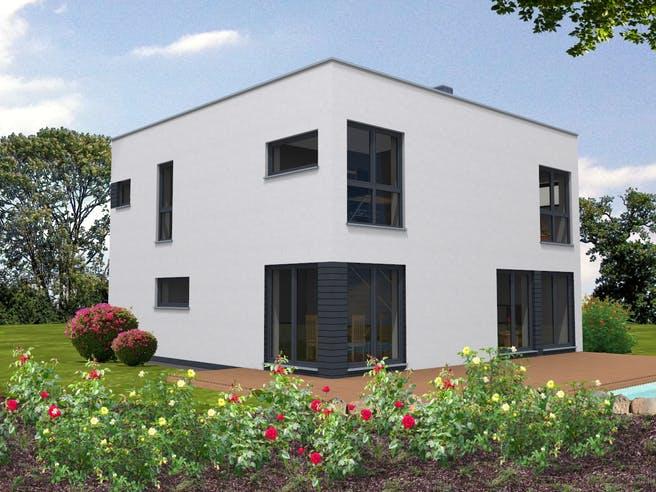 Bauhaus 161 von Suckfüll - Unser Energiesparhaus Außenansicht 1