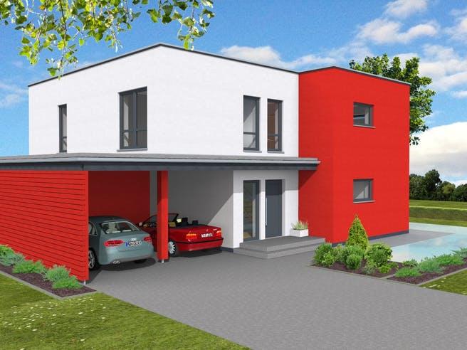 Bauhaus 197 von Suckfüll - Unser Energiesparhaus Außenansicht 1