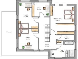 Bauhaus 197 von Suckfüll Grundriss 1