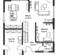 Meisterstück Haus - Bauhaus-Stil EG
