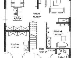 Bauhaus-Stil von Meisterstück-HAUS Grundriss 1