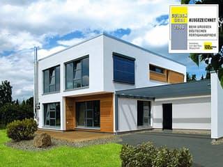 Bauhaus-Stil von Meisterstück-HAUS Außenansicht 1