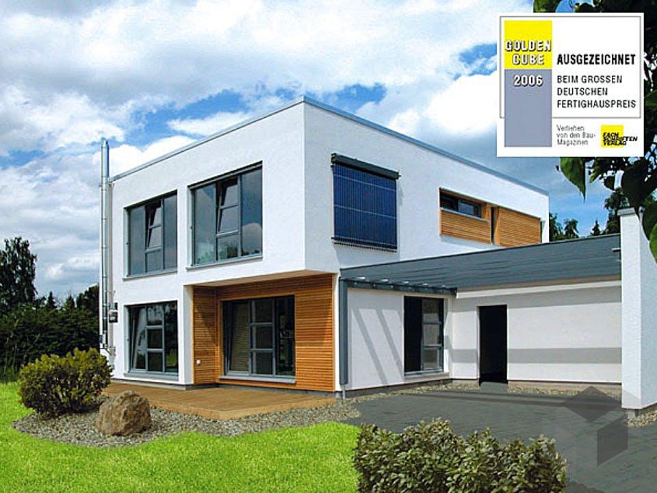 Bauhaus-Stil von Meisterstück-HAUS Außenansicht