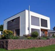 Meisterstück Haus - Bauhaus-Stil Außenansicht 02