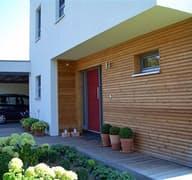 Meisterstück Haus - Bauhaus-Stil Außenansicht 04