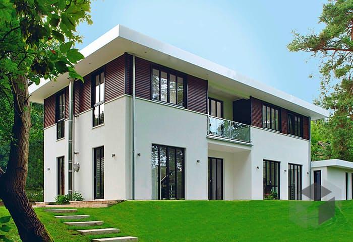 fertighaus villa grundriss. Black Bedroom Furniture Sets. Home Design Ideas