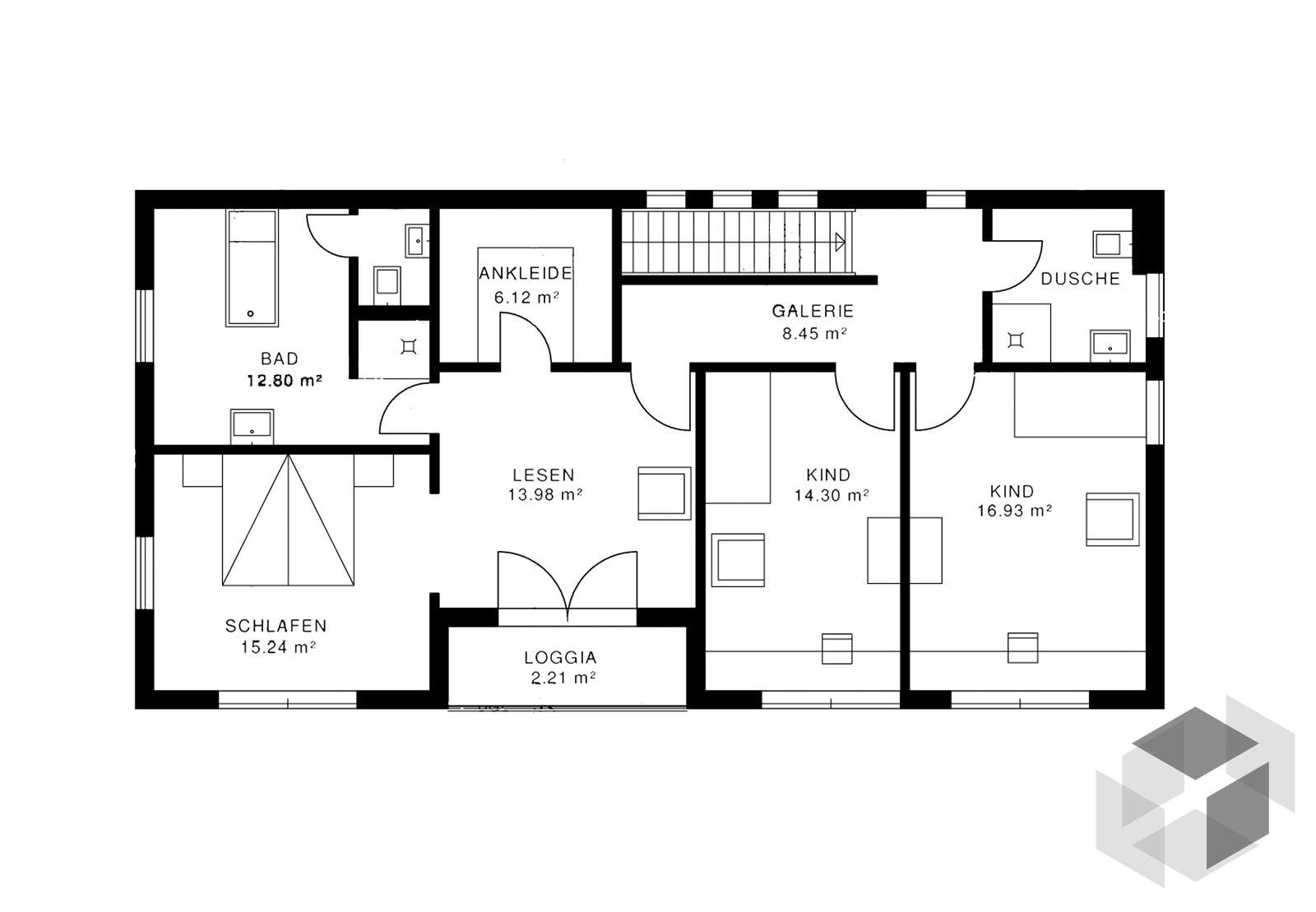 bauhausvilla inactive von haacke haus komplette daten bersicht. Black Bedroom Furniture Sets. Home Design Ideas
