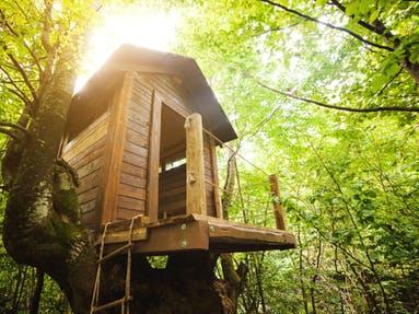 Baumhaus aus Holz