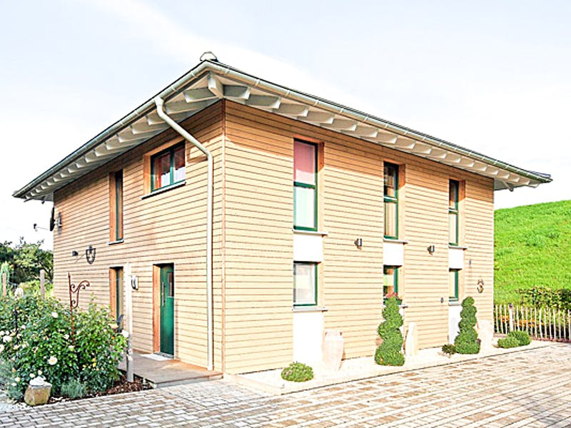 Stadtvilla aus Holz von Becker 360