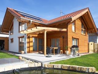 Beilstein von Rems-Murr-Holzhaus Außenansicht 1