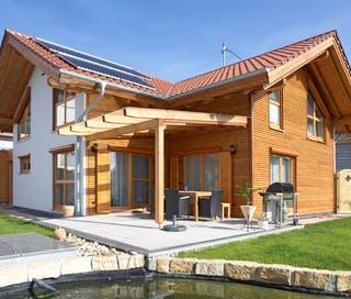 Ein Blockhaus planen & bauen - Häuser & Infos   Fertighaus.de