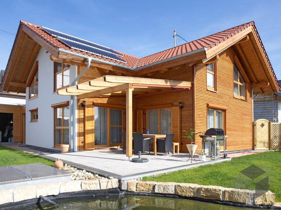 Beilstein von Rems-Murr-Holzhaus Außenansicht