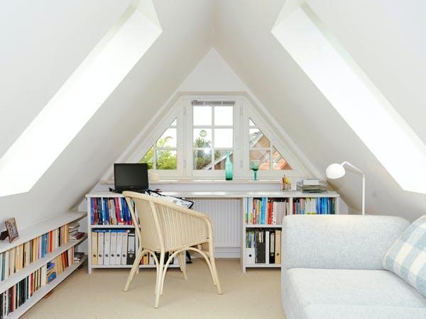 Gästezimmer unter Satteldach