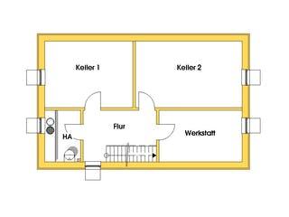Birgit (KfW-Effizienzhaus 40) von Dammann-Haus Grundriss 1