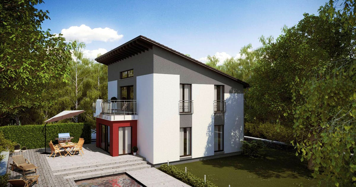 Massives Ausbauhaus